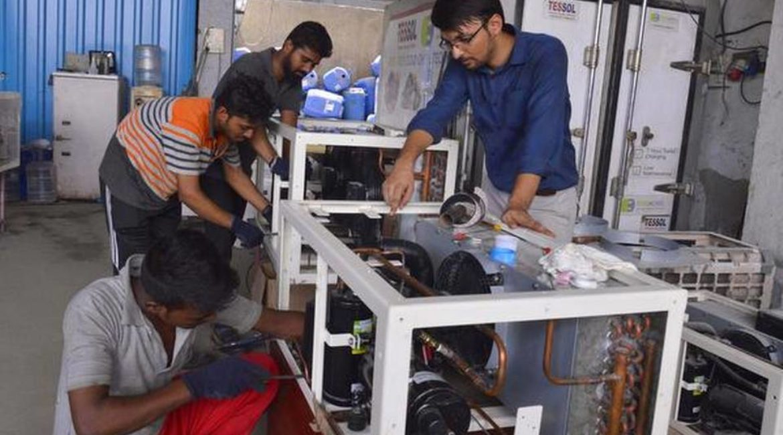 Batteries over burning fuel, to preserve food